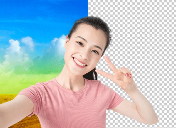 幻影图像:功能视频人像抠图、替换图像、调整位置